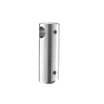 "Stainless Steel Bar Holder 9/16"" Dia. Hole for 1 2"