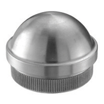 Stainless Steel End Cap Semispherical for Tube 1 2