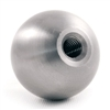 "Stainless Steel Sphere 2 23/64"" Dia. Threaded Dead"