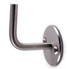 "Stainless Steel Handrail Support 2 61/64"" x 2 61/6"