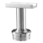 "Stainless Steel Handrail Support 2 9/16"" x 3/4"" Di"