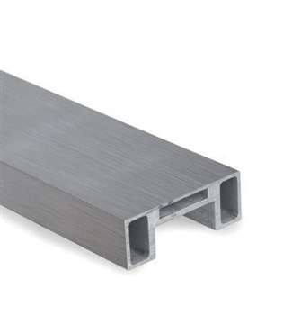 "Aluminum Rectangular Tube 1-7/8""W - 19'-8""L"