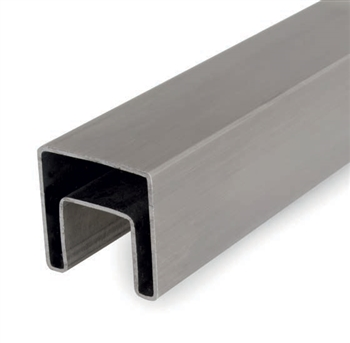 "316 Stainless Steel Square Tube 1-9/16""x 1/16""W - 19'-8""L"