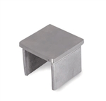 "316 Stainless Steel End Cap for 1-9/16"" x 1/16"""