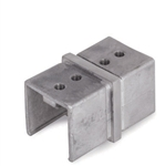 "Stainless Steel Fitting Connector for Square Tube 1-9/16"" x 1/16"""