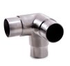 "Stainless Steel 3-Way Corner Fitting 1 1/2"" Dia. x"