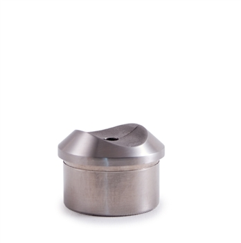 316 Stainless Steel Handrail Support Adapter Satin