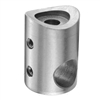 "316 Stainless Steel Connector 1/2"" Dia. Hole for 1"