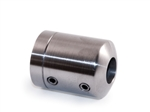 "316 Stainless Steel Connector 1/2"" Dia. Hole for 1 2/3"" dia Tube"