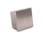 "1-9/16"" Stainless Steel Cap for Square Tube"