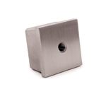 Stainless Steel Cap for Square Tube 1-9/16""