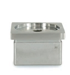 316 Stainless Steel Cap for Square Tube 1-9/16""