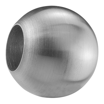 "316 Stainless Steel Sphere 63/64"" Dia. Dead Hole,"
