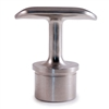 Stainless Steel Handrail Support Rigid, Satin Fini