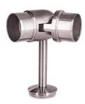 "Stainless Steel Elbow Handrail Support 1-2/3"" Dia. x 5/64"", for Tube 1-2/3"" Dia."