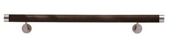 Wooden Wenge Finish Handrail (assembled) 78 3/4""