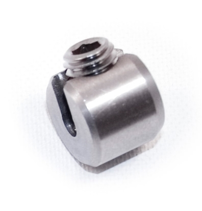 Indital Stainless Steel Stopper for Wire Rope 13/64\
