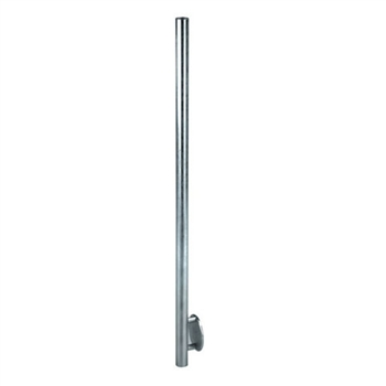 "Galvanized Steel Newel Post 1 2/3"" Dia. X 5/64"" x"