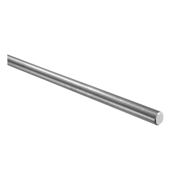 "Galvanized Steel Round Bar 1/2"" Dia. x 9' 10"""