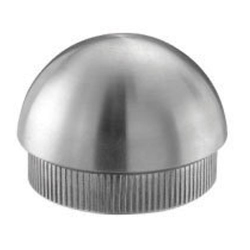 Galvanized Steel End Cap Semispherical For Tube 1 2 3  Dia. Indital Galvanized Steel End Cap Semispherical For Tube 1 2 3  Dia