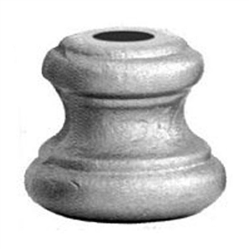 "Round shoe, fits 9/16"" baluster"
