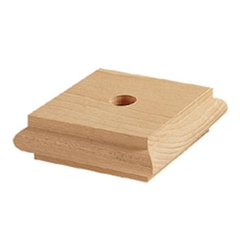 Mod.35 Wood Square Top Block