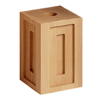 Mod.35 Wood Square Block