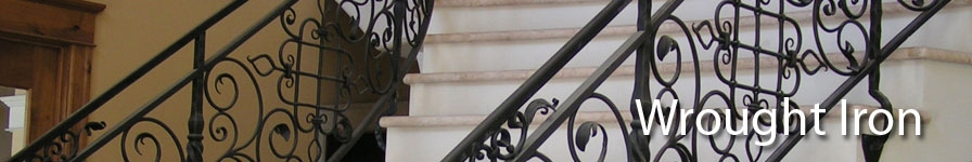 Art Deco Wrought Iron Banisters Indital Usa
