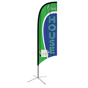 ffmcave concave feather flag