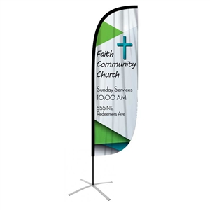 FeatherFlag Outdoor Medium Convex Banners