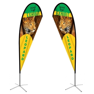 ffsdrop2 feather flag double-sided