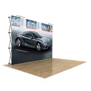 Star Fabric Pop Up Trade Show Display