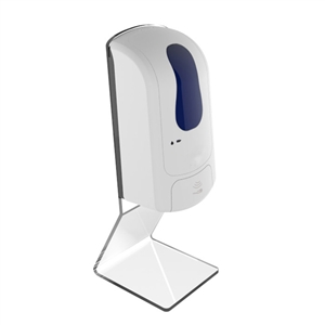 hand sanitizer machine with acrylic stand