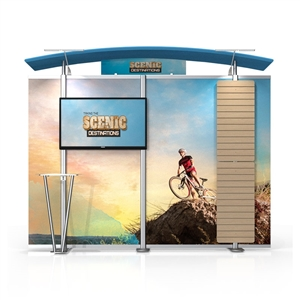 tl1002asw monitor display with slat wall wings