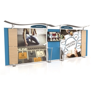 Timberline - 20ft Hybrid Slat Wall Display