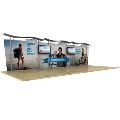 Timberline - 30ft Hybrid TradeShow Display