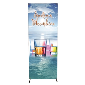 Large X Banner Display System with Graphic