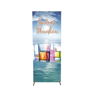 X Banner Display System with graphic