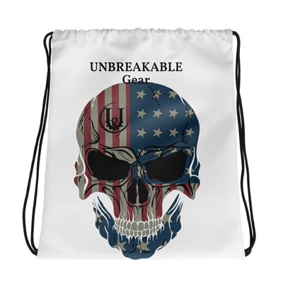 American Made Muscle Drawstring Gym Bag
