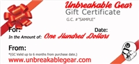 One Hundred Dollar Gift Certificate ($100)