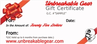 Twenty Five Dollar Gift Certificate ($25)