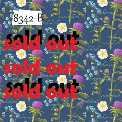 Outlander Thistle and Rose  SOLD OUT