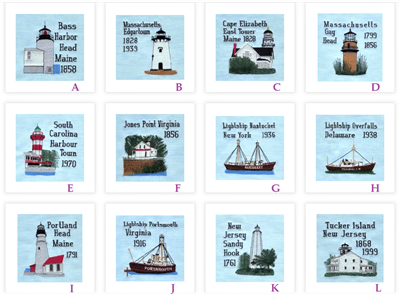 Atlantic Coastal Lighthouses Collection 1