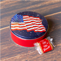 Biscoff  Flag Cookie Tin