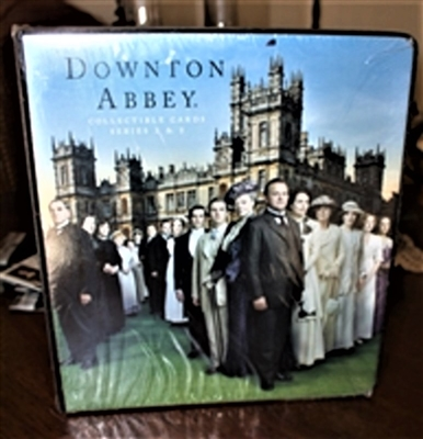 Cryptozoic Downton Abbey Season BINDER & BOX BUNDLE