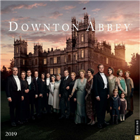 Downton Abbey 2019 12 month Calendar