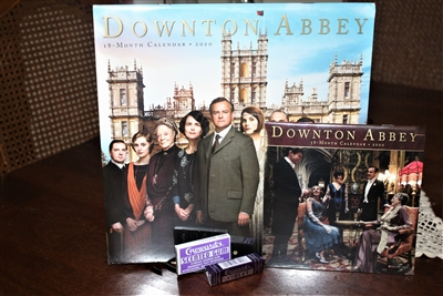 Downton Abbey 2020  18 month Calendar