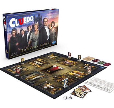 Downton Abbey Cluedo