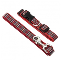 Tartan Leashes and Collars