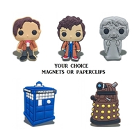 Dr. Who paperclip set
